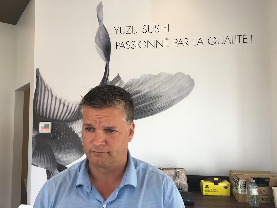 Robert Gauvin, candidat progressiste-conservateur dans la circonscription de Shippagan-Lamèque-Miscou