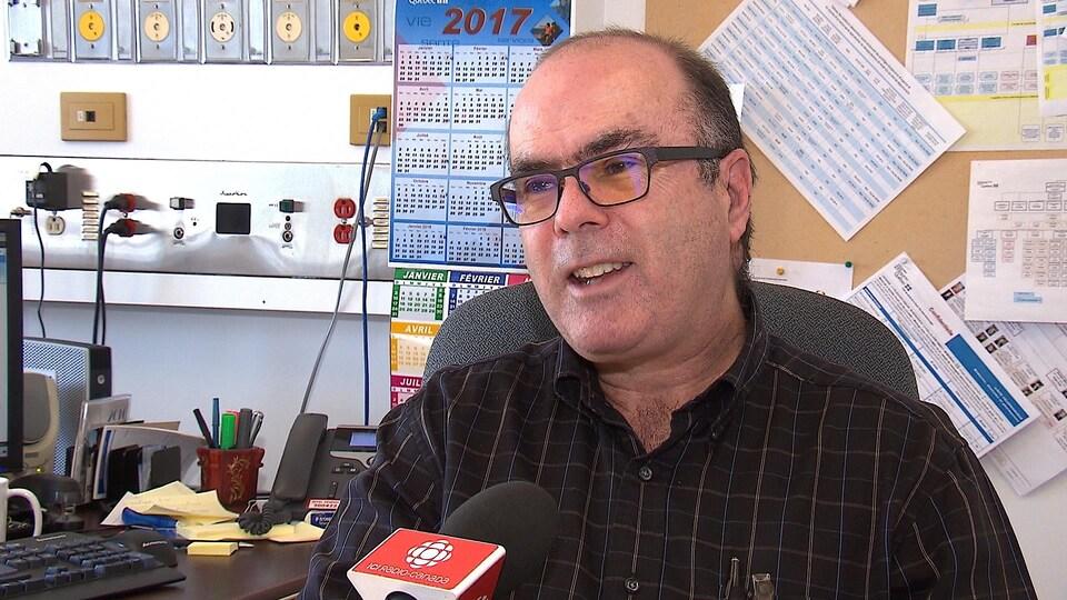 Dr Roger Dubé, directeur adjoint des services professionnels et de l'enseignement universitaire au Centre intégré de santé et de services sociaux de la Côte-Nord.