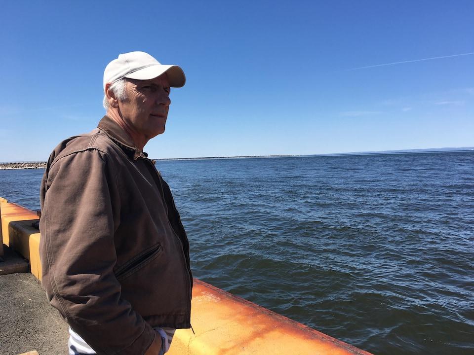 Depuis l'incendie, Roger St-Pierre n'a pas trouvé d'emploi dans la région de Fort McMurray.