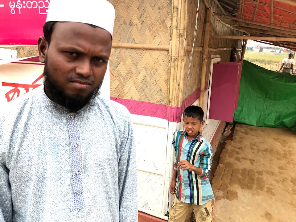 Syed Ullah, réfugié rohingya. Novembre 2017.