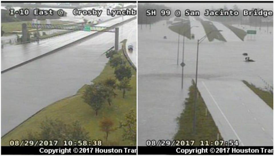L'état des routes à Houston