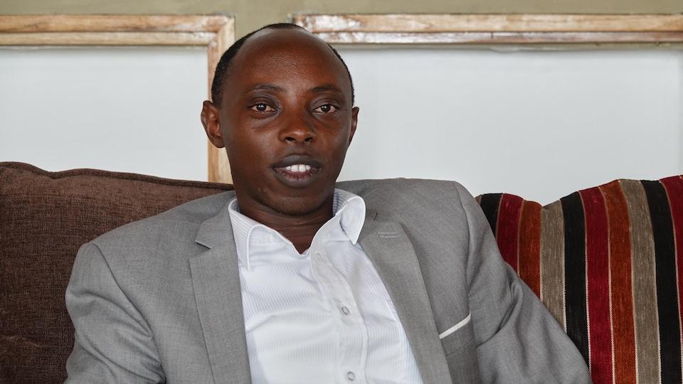 Le visage souriant de Ted Kaberuka