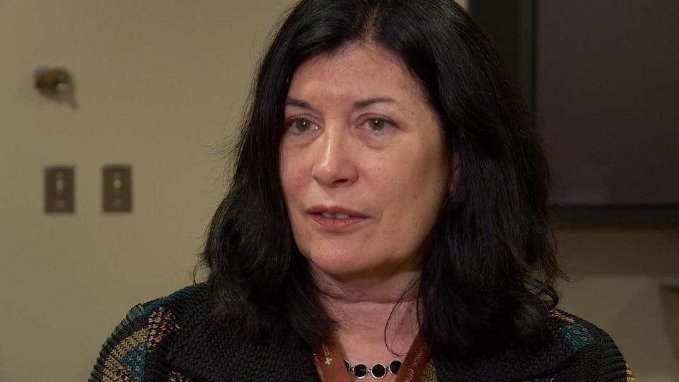 La Dre Sandra Corbett, chef de la psychiatrie aux Services de santé Alberta - région du nord.