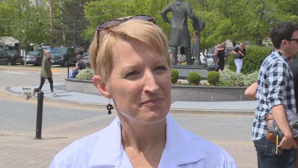 Sarah Wells, professeure en bio-ingénierie à l'Université Dalhousie.