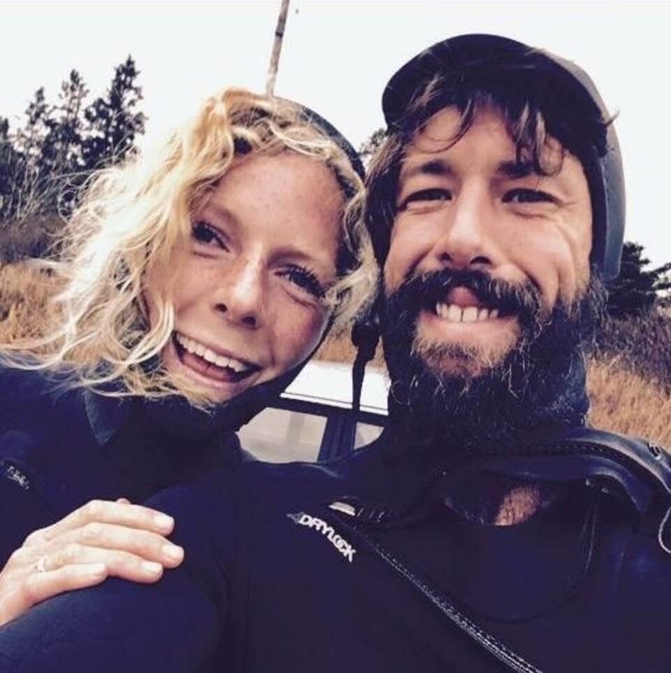 Bianca Buckley et Sean McKinnon.