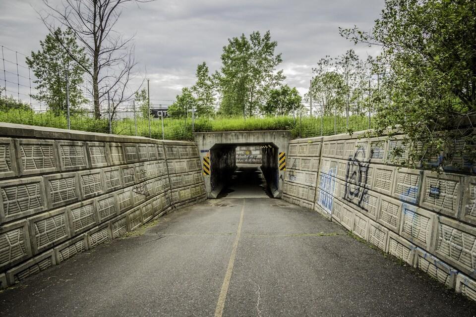 Passage sous une voie ferrée