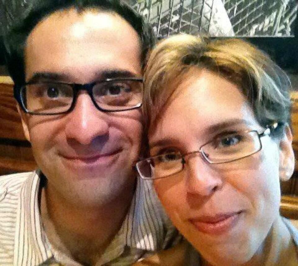 Stéfan Robert et Isabelle Groleau, résidents de Houston