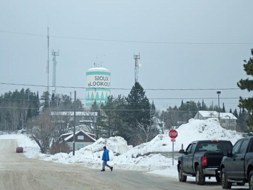 Vue de Sioux Lookout, une communauté de 5000 habitants du Nord de l'Ontario.