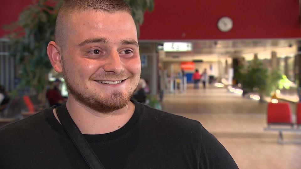 Anthony Soler est heureux d'être arrivé au Québec