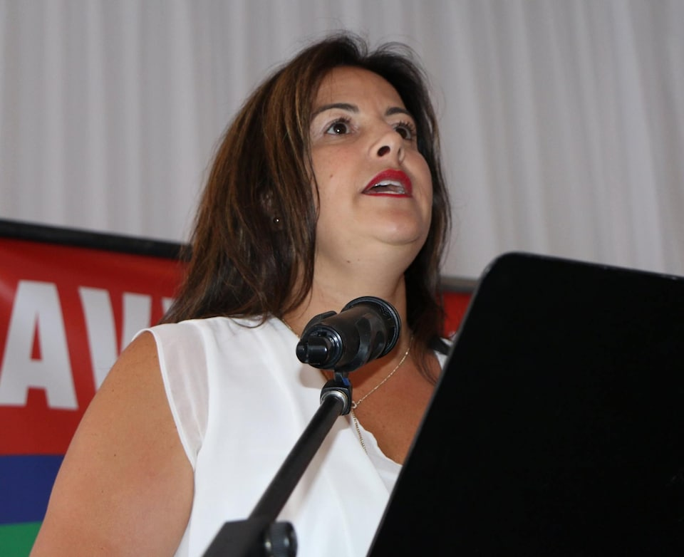Sonia Baudelot, chef du parti Avenir Laval