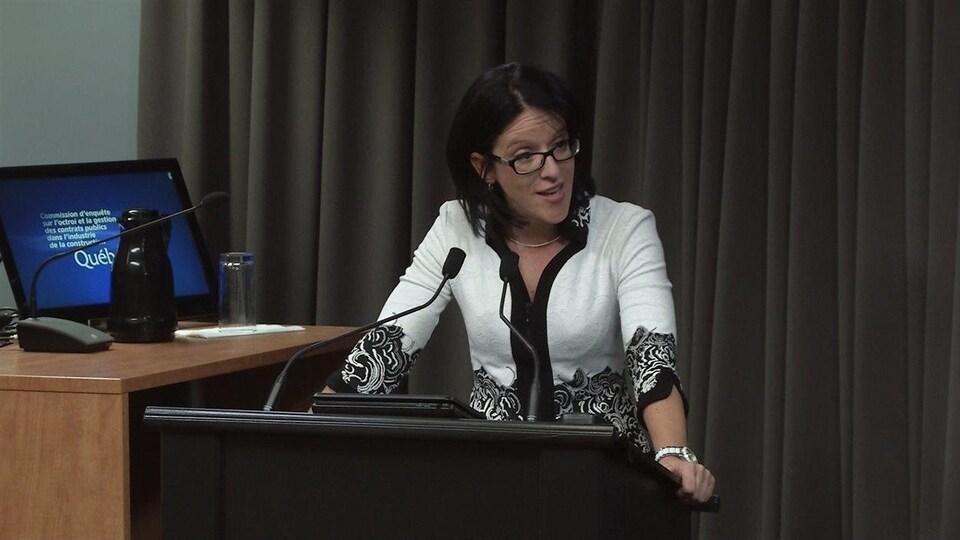 L'ex-procureure en chef de la commission Charbonneau, Sonia LeBel.