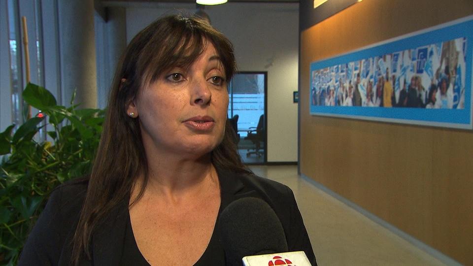 Sonia Mancier, présidente de la Fédération interprofessionnelle de la santé du Québec-Secteur privé
