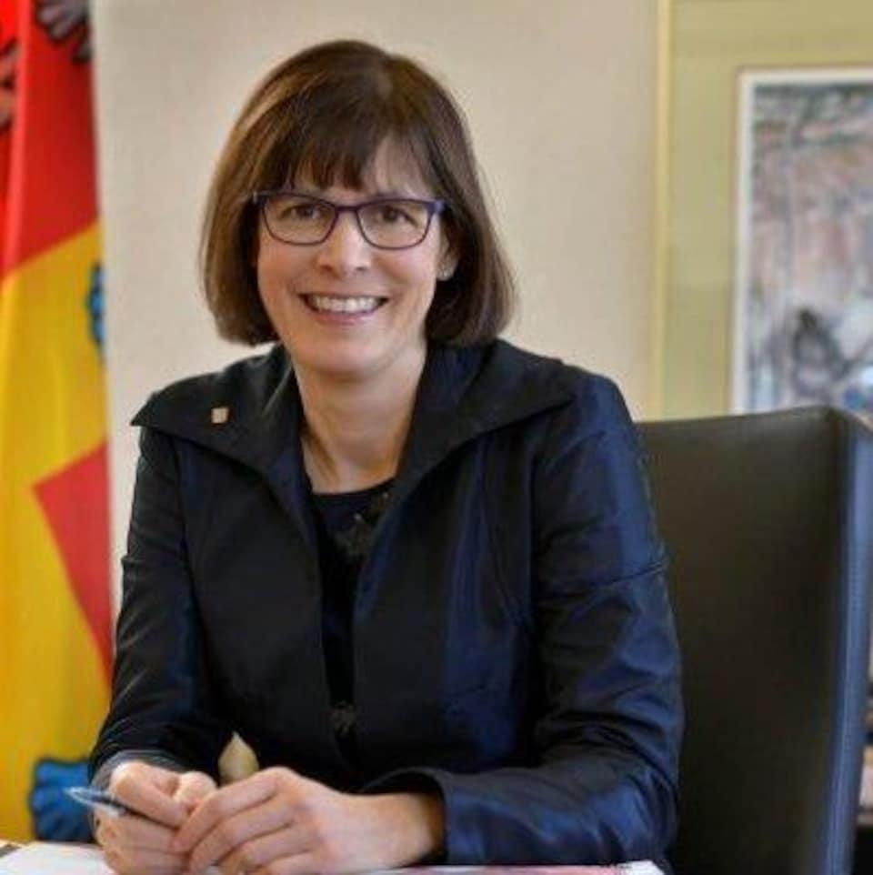 Sophie D'Amours, professeure au département de génie mécanique de l'Université Laval