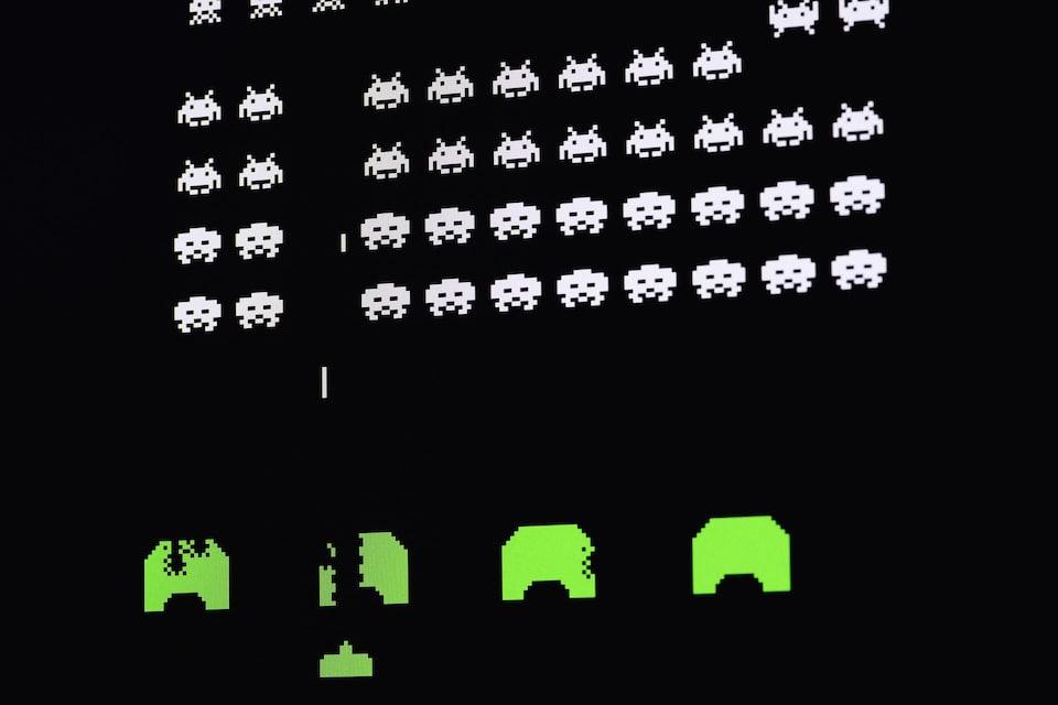 Les personnages du jeu à l'écran.