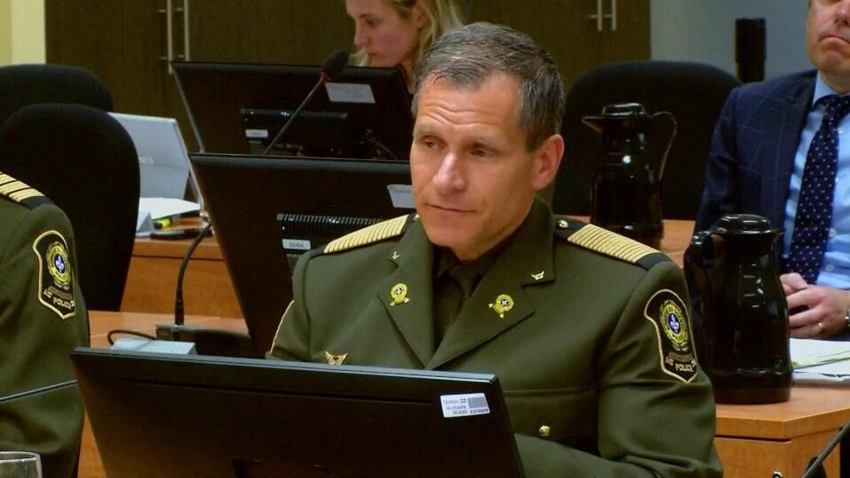 L'actuel directeur de la Sûreté du Québec (SQ), Martin Prud'homme.