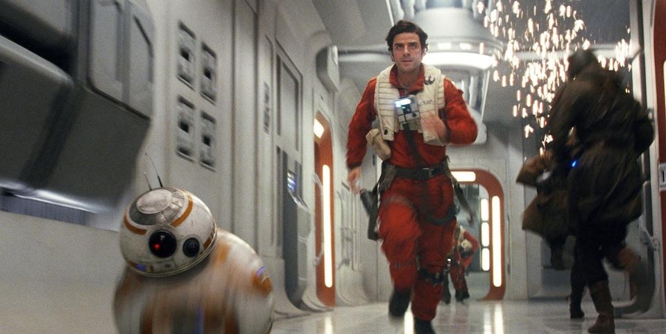 Une scène du film «Star Wars : les derniers Jedi»