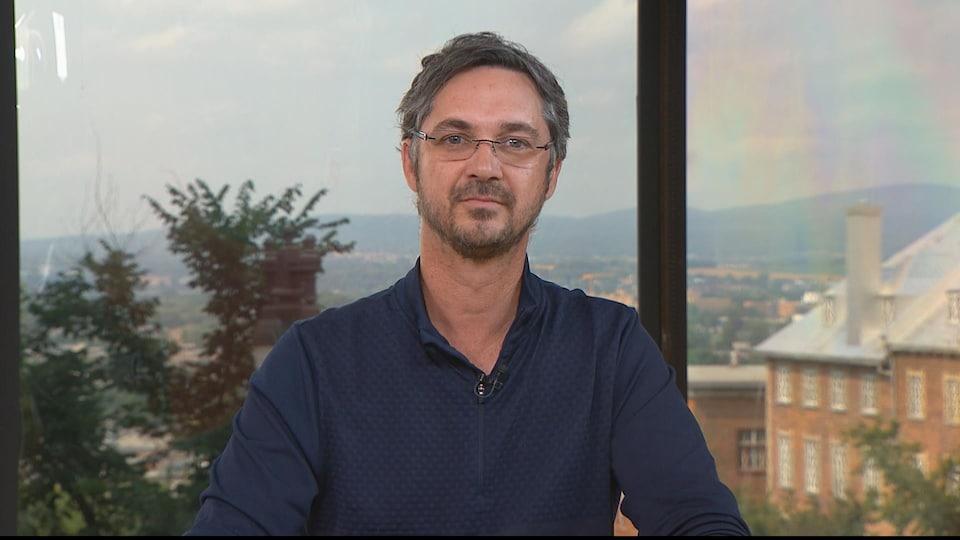 Le chef du parti Citoyens au pouvoir, Stéphane Blais.