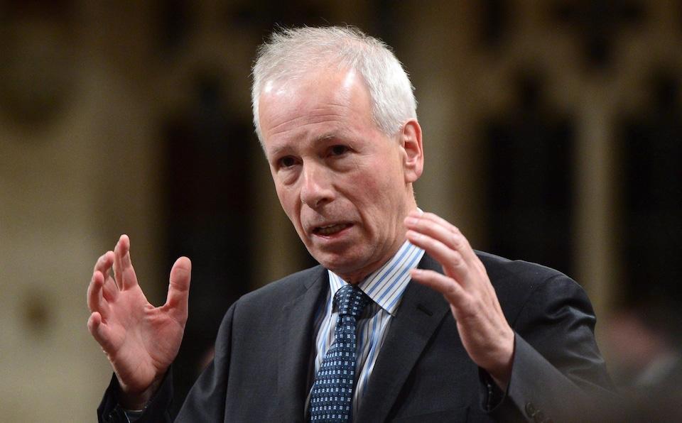 Stéphane Dion, envoyé spécial du Canada auprès de l'Union européenne