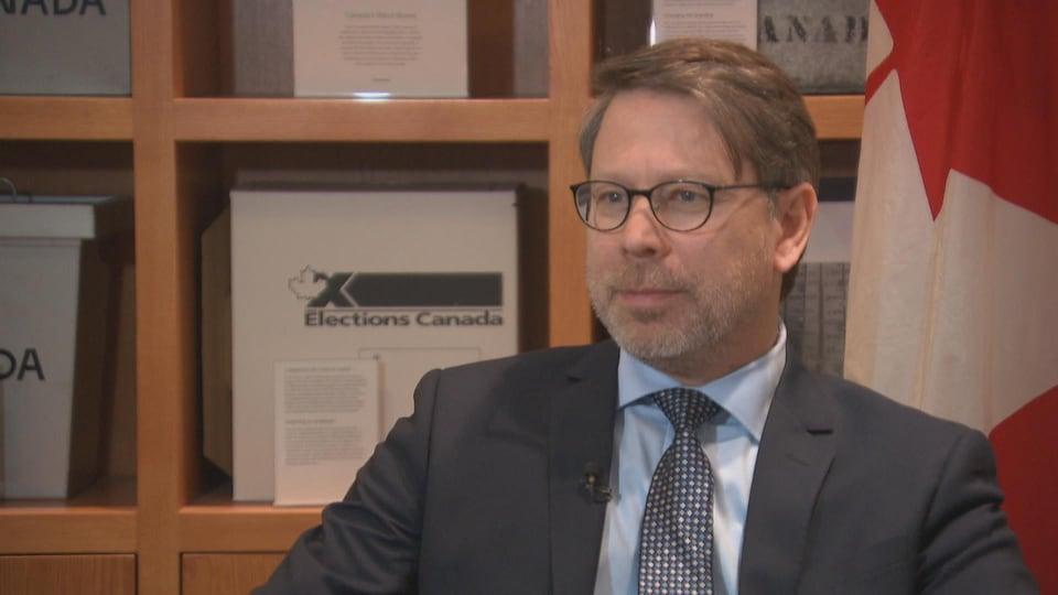 Le directeur général des élections, Stéphane Perrault