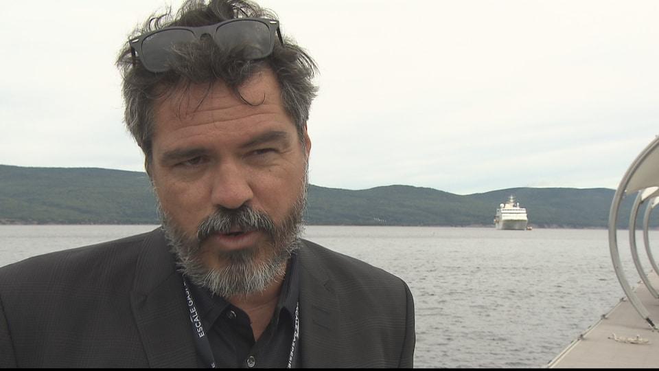 Stéphane Ste-Croix, chef Escale Gaspésie