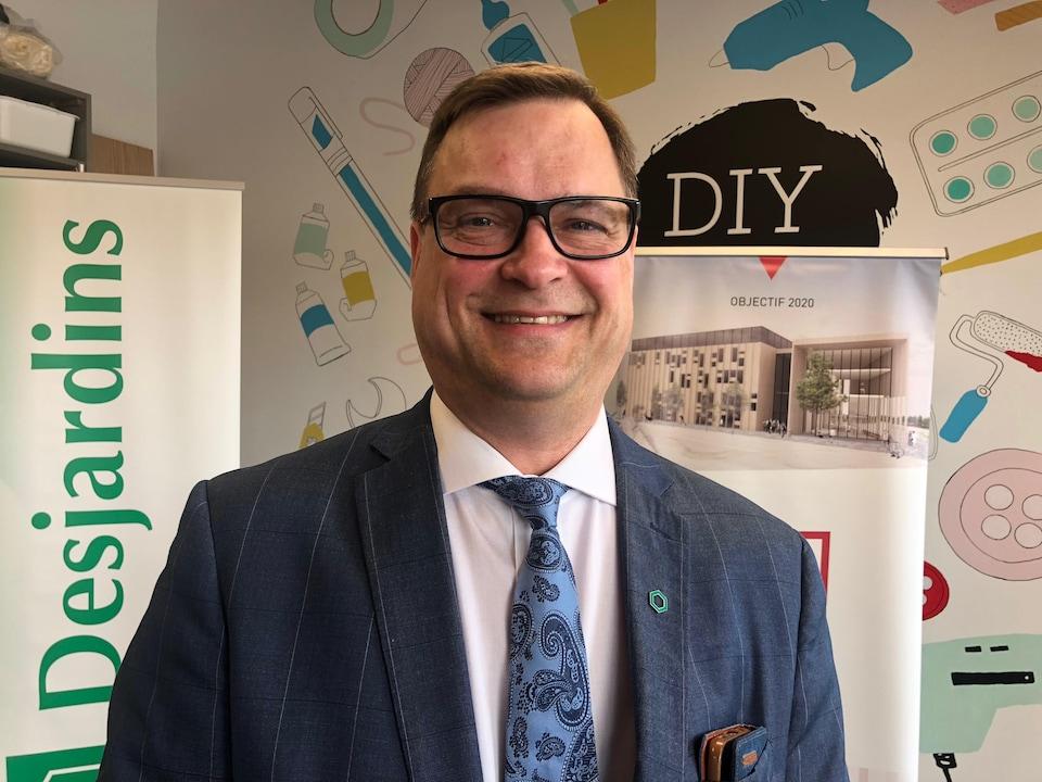 Stéphane Trottier est le président du conseil régional des Caisses populaires de l'Ontario.