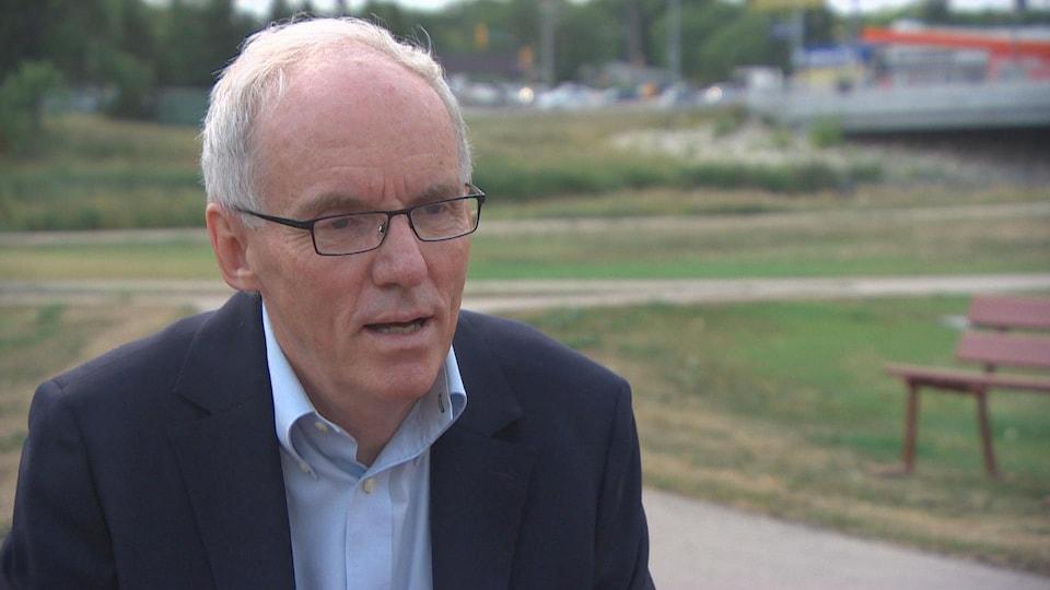 Steve Ashton, vétéran du NPD du Manitoba, est candidat à la direction du parti pour la troisième fois en 2017.