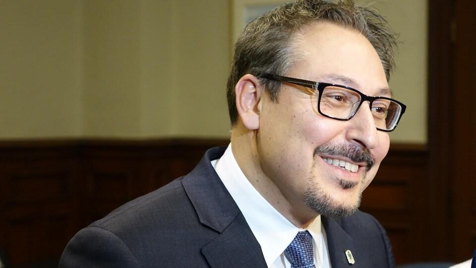 Steve Lussier, maire de Sherbrooke