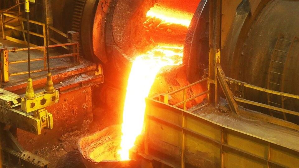 Les installations de la minière Vale à Sudbury.