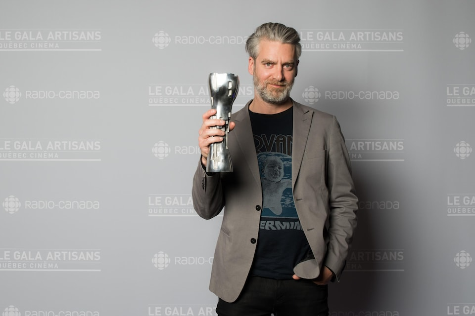 Sylvain Corbeil, producteur du film «Juste la fin du monde», lauréat de trois prix jeudi au Gala des artisans