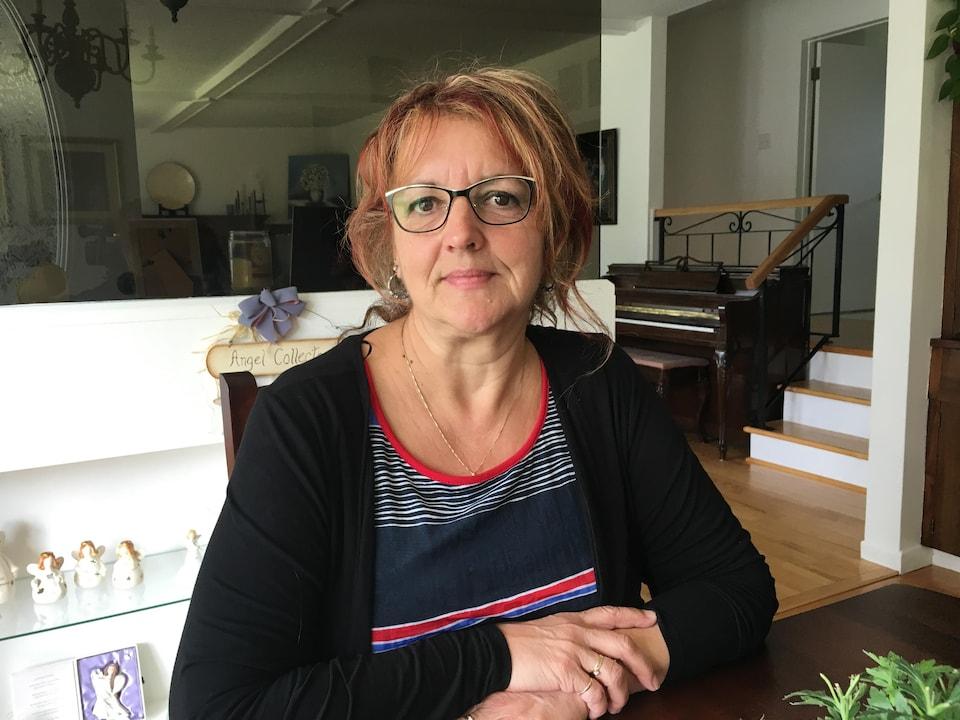 Sylvie Martin, infirmière en foyer de soins.