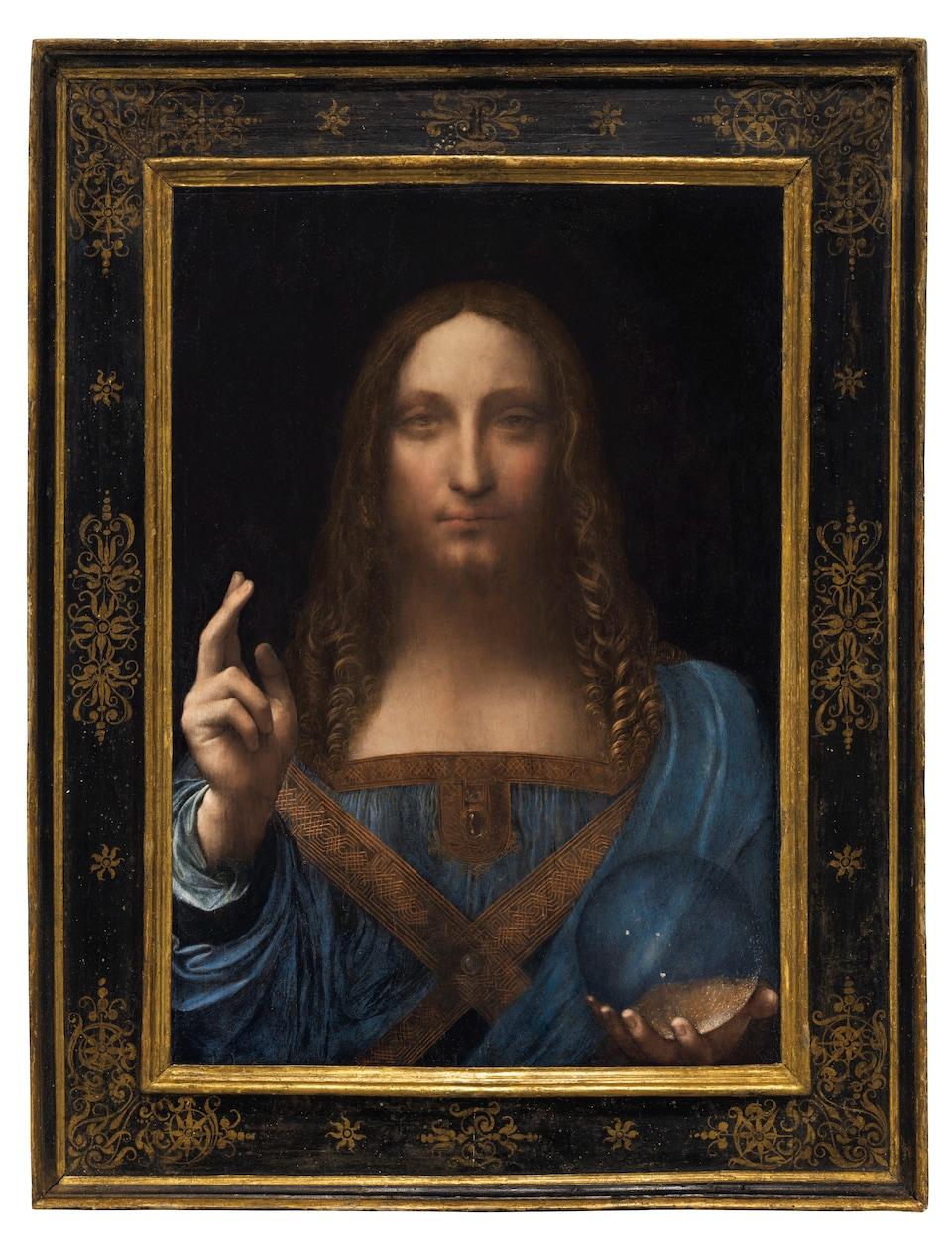 Le tableau «Salvator Mundi», un portrait de Jésus de Léonard de Vinci