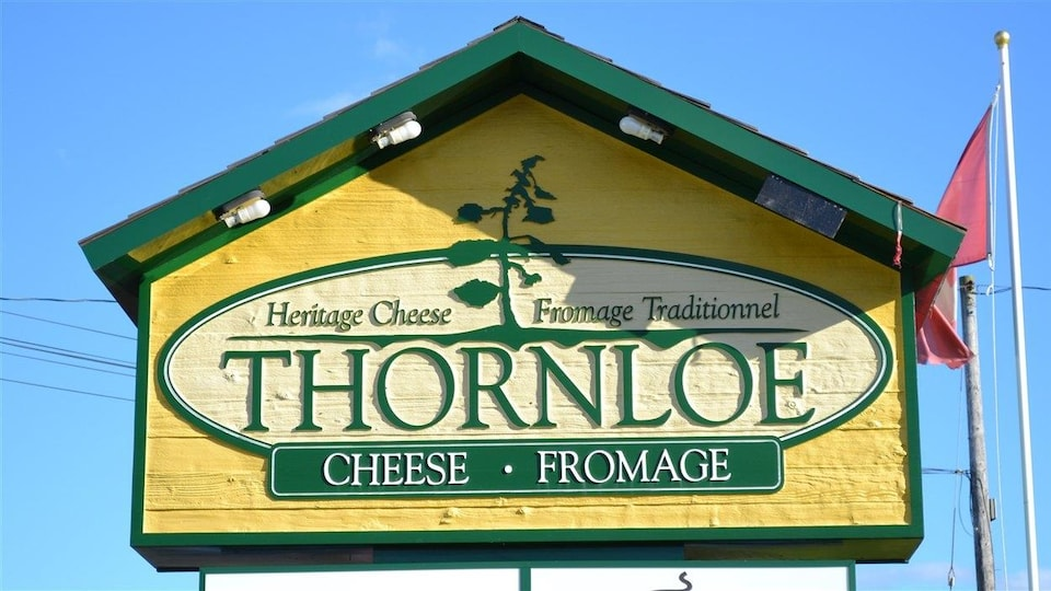 Les fromages Thornloe.