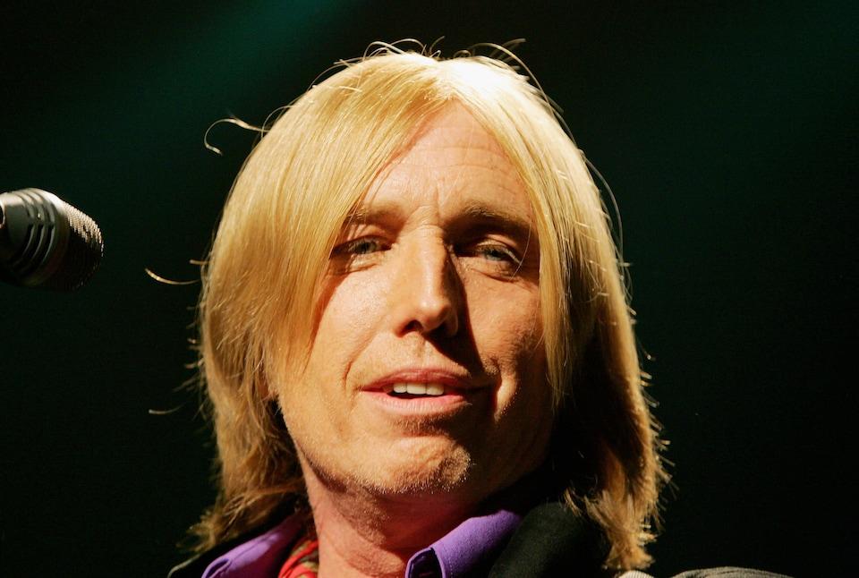 Tom Petty en concert le 16 août 2005 à Las Vegas
