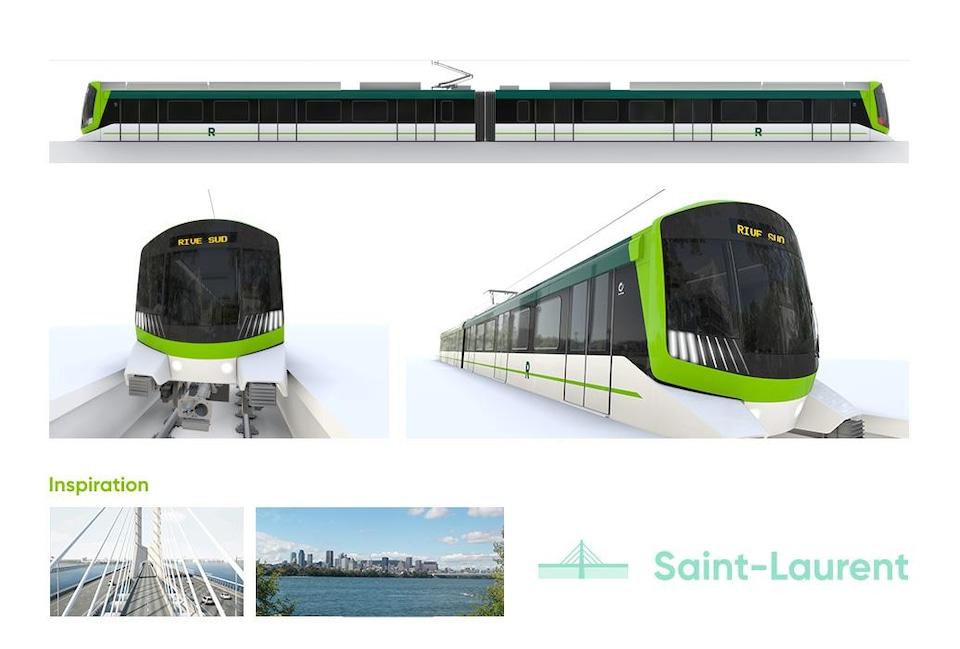Sketch of the future train.