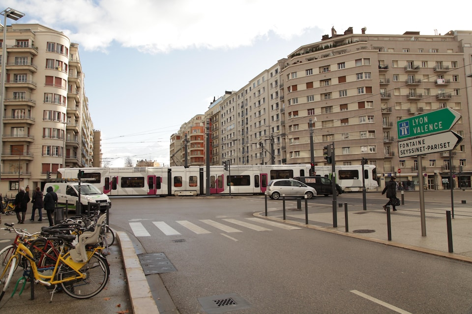 Tramway à Grenoble