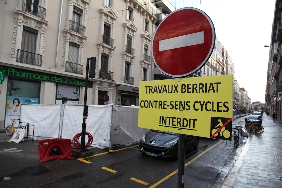 Des travaux dans la ville de Grenoble