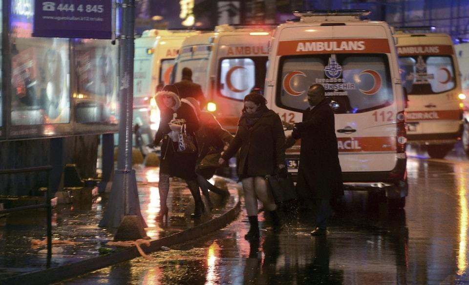 Attaque à Istanbul