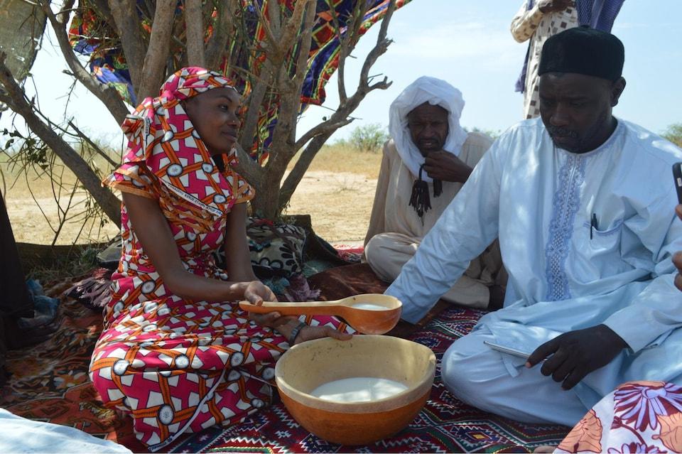 Hindou Oumarou Ibrahim au Tchad.