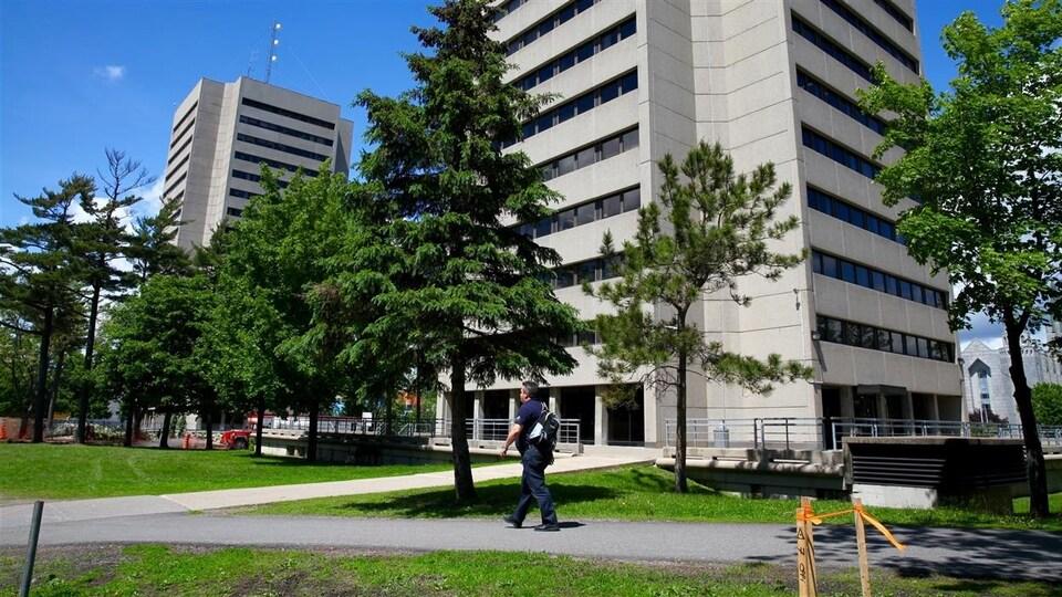 Le campus de l'Université Laval.