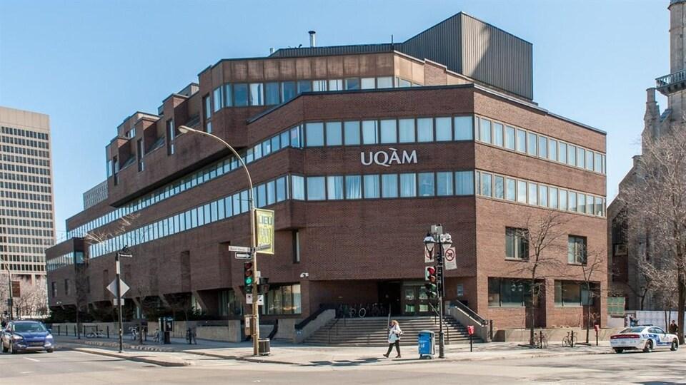Un des pavillons de l'Université du Québec à Montréal (UQAM).