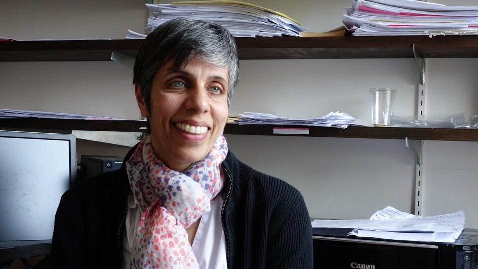 Usha A. Viswanathan, directrice du centre de formation linguistique pour les études en français du Collège universitaire Glendon.