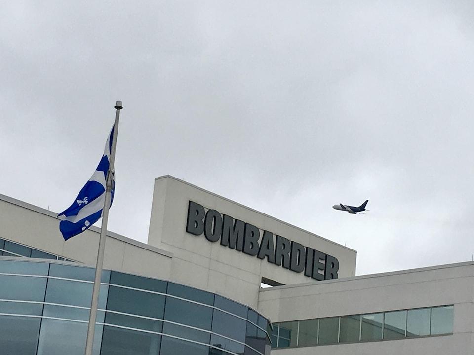 Le centre de finition Global de Bombardier, à Dorval