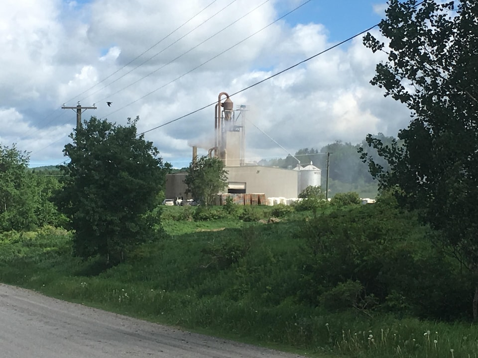 L'usine Nutritech de Saint-François-de-Madawaska