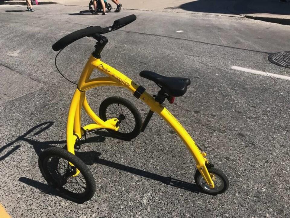 Un vélo Alinker.