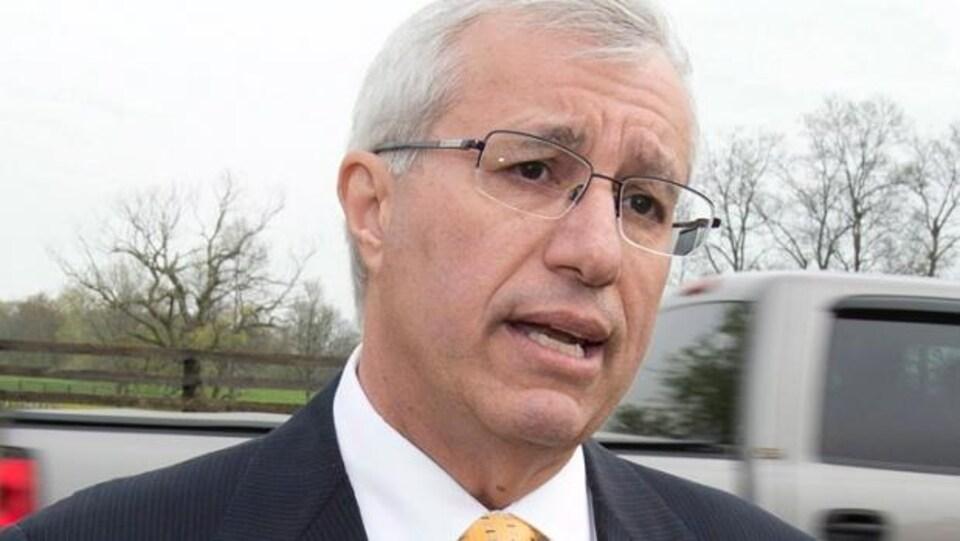 Le député progressiste-conservateur de Nipissing Vic Fedeli.