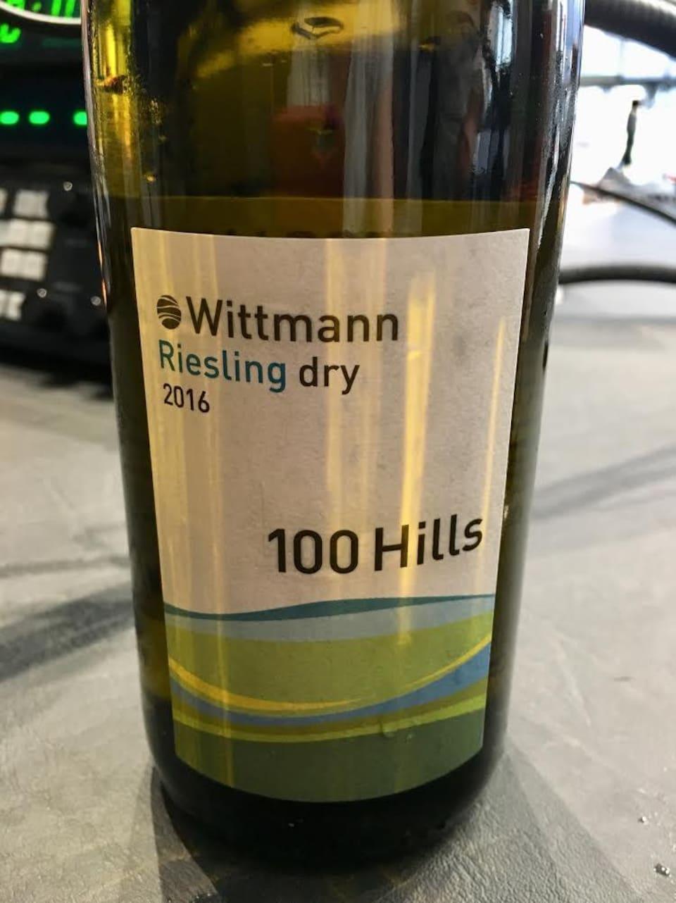 Weingut Wittmann Riesling 100 Hills 2016, Code SAQ : 13109700 , 20,75$