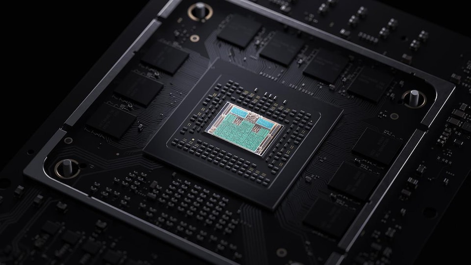 Le SSD de la Xbox Series X.