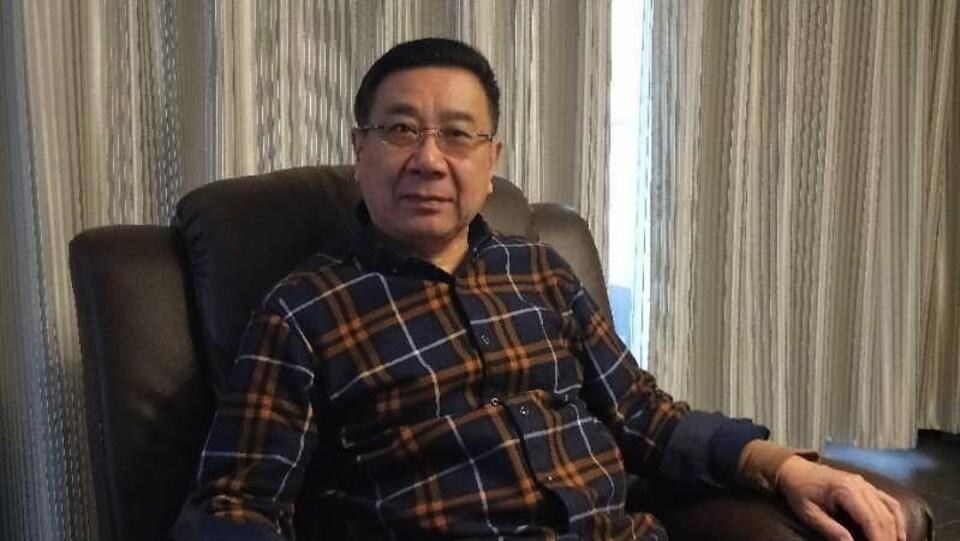 Li Datong, ex-journaliste du Quotidien de la jeunesse de Chine.