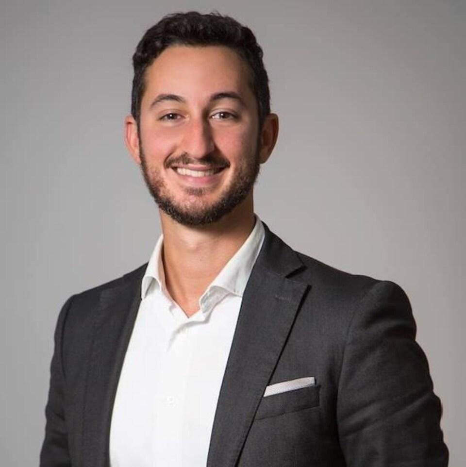 Youssef Amane, attaché de presse du Comité exécutif de la Ville de Montréal