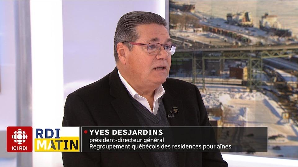 Yves Desjardins en entrevue à RDI Matin